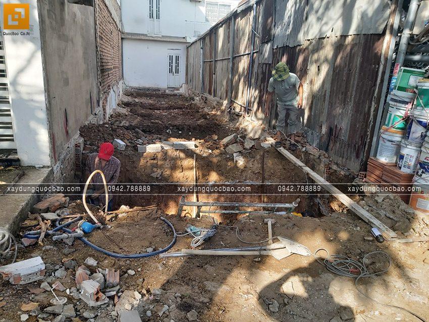 Khởi công nhà 3 tầng hiện đại tại Biên Hòa của bác Ngọc - Ảnh 7