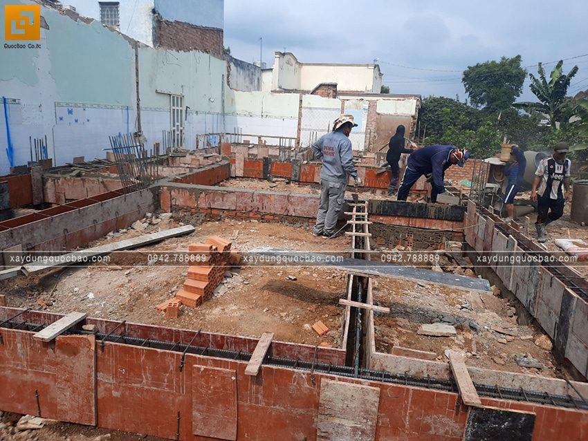 Khởi công thi công phần móng căn biệt thự tại Vĩnh Cửu - Ảnh 8