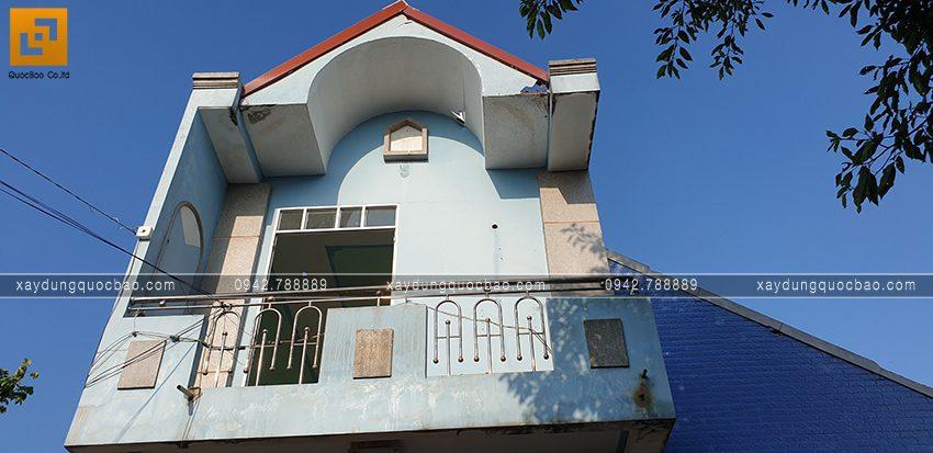 Hiện trạng căn nhà cũ của gia đình bác chủ