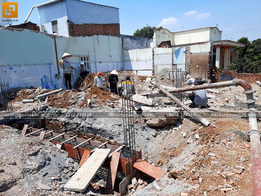 Khởi công thi công phần móng căn biệt thự tại Vĩnh Cửu - Ảnh 3