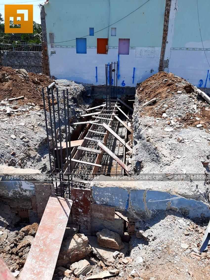 Khởi công thi công phần móng căn biệt thự tại Vĩnh Cửu - Ảnh 4