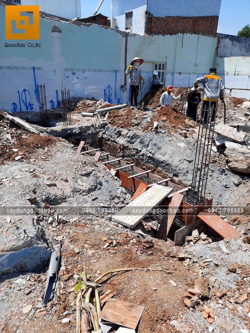 Khởi công thi công phần móng căn biệt thự tại Vĩnh Cửu - Ảnh 5