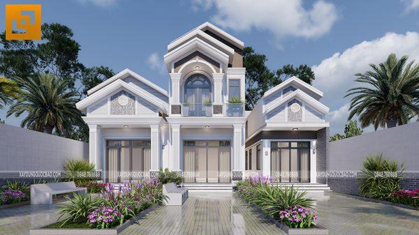 Nhà mái thái đẹp tại Trảng Bom của gia đình chú Ngọc
