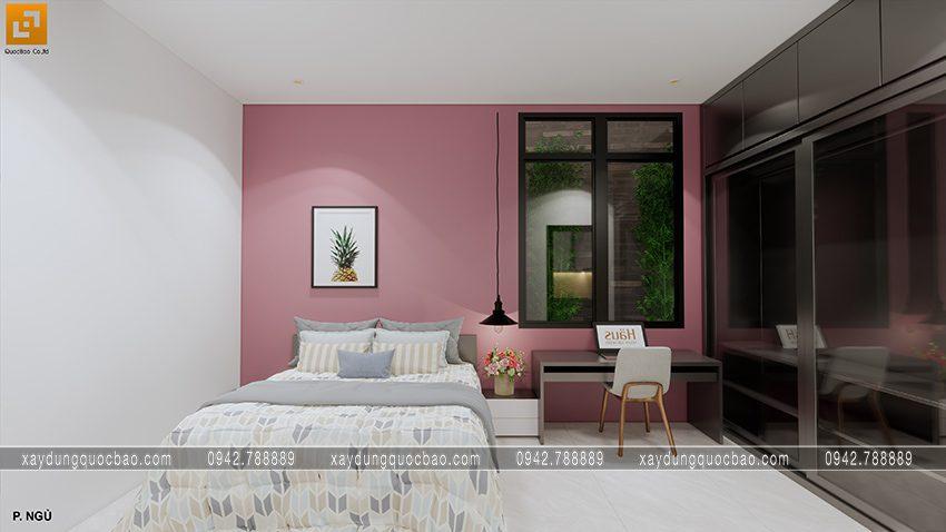 Thiết kế nội thất phòng ngủ của bé gái