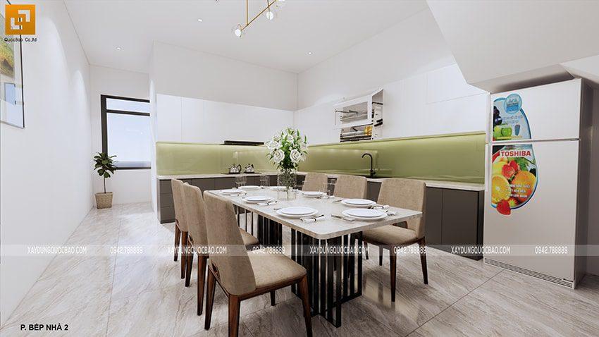 Nội thất nhà bếp + nhà ăn