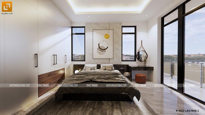 Nội thất phòng ngủ master lầu 1