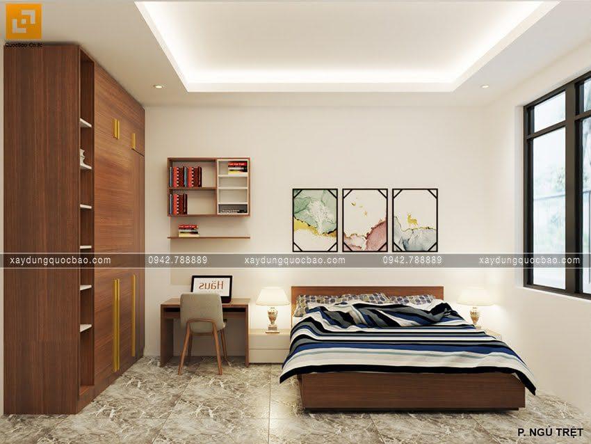 Phòng ngủ của con trai ở lầu 1