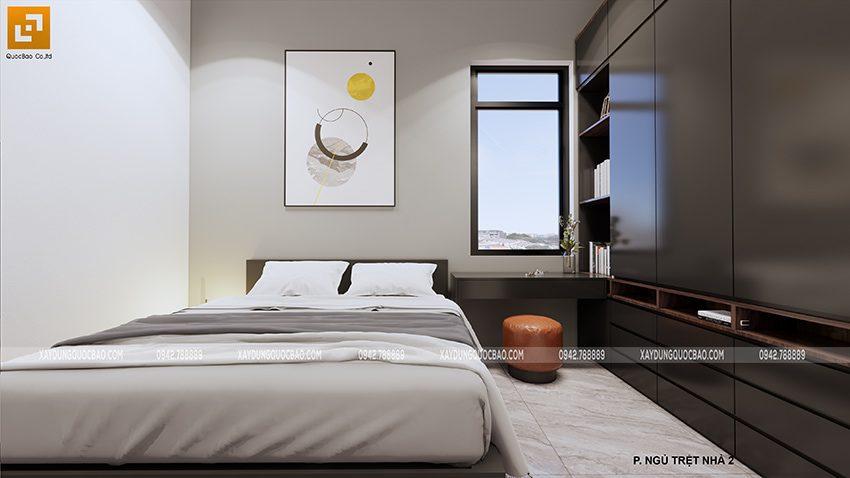 Nội thất phòng ngủ tầng trệt