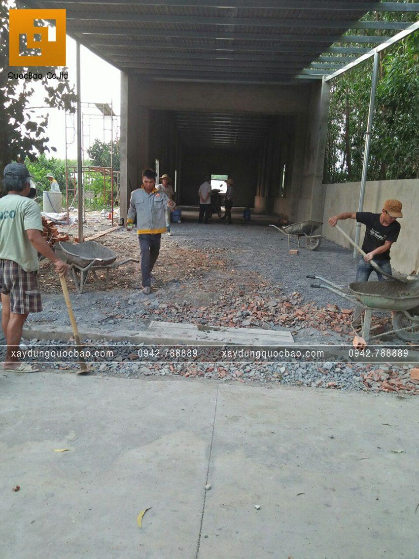 Thi công nhà kho - Ảnh 10