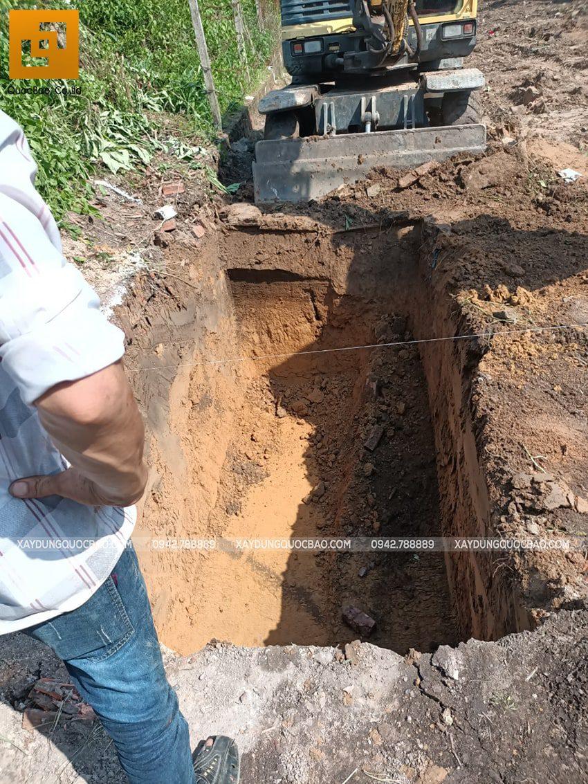 Thi công phần móng nhà mái thái - Ảnh 5
