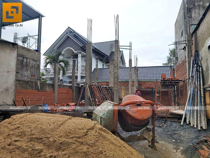 Thi công phần thô Biệt thự 2 tầng tại Trảng Bom - Ảnh 14