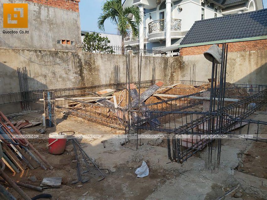 Thi công phần thô Biệt thự 2 tầng tại Trảng Bom - Ảnh 11