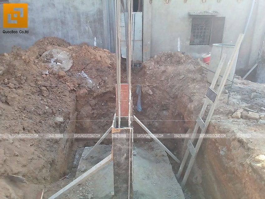 Thi công phần thô Biệt thự 2 tầng tại Trảng Bom - Ảnh 7