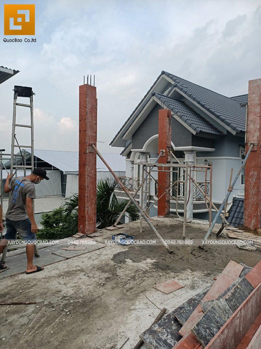 Thi công phần thô Biệt thự 2 tầng tại Trảng Bom - Ảnh 23