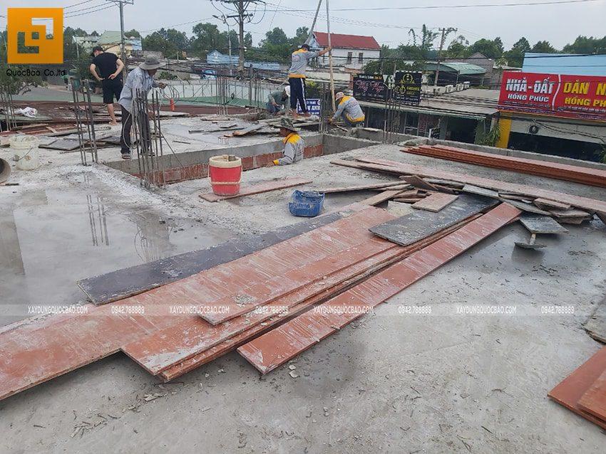 Thi công phần thô Biệt thự 2 tầng tại Trảng Bom - Ảnh 22