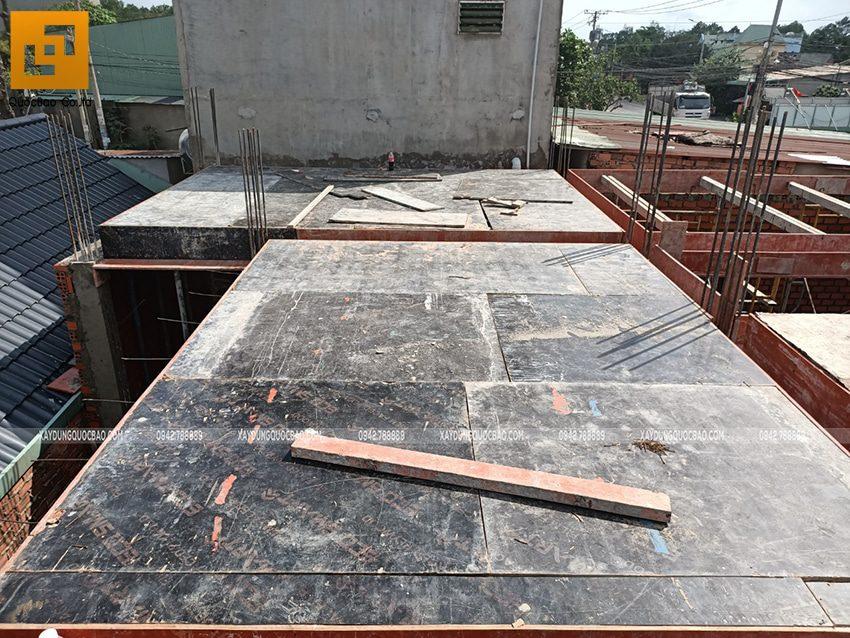 Thi công phần thô Biệt thự 2 tầng tại Trảng Bom - Ảnh 18