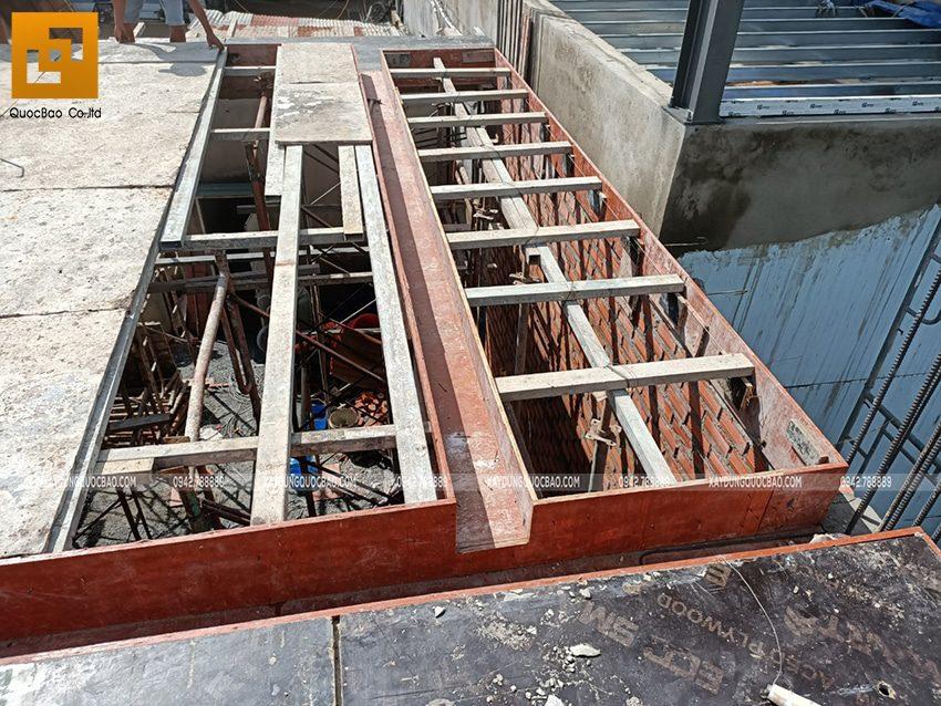Thi công phần thô Biệt thự 2 tầng tại Trảng Bom - Ảnh 17