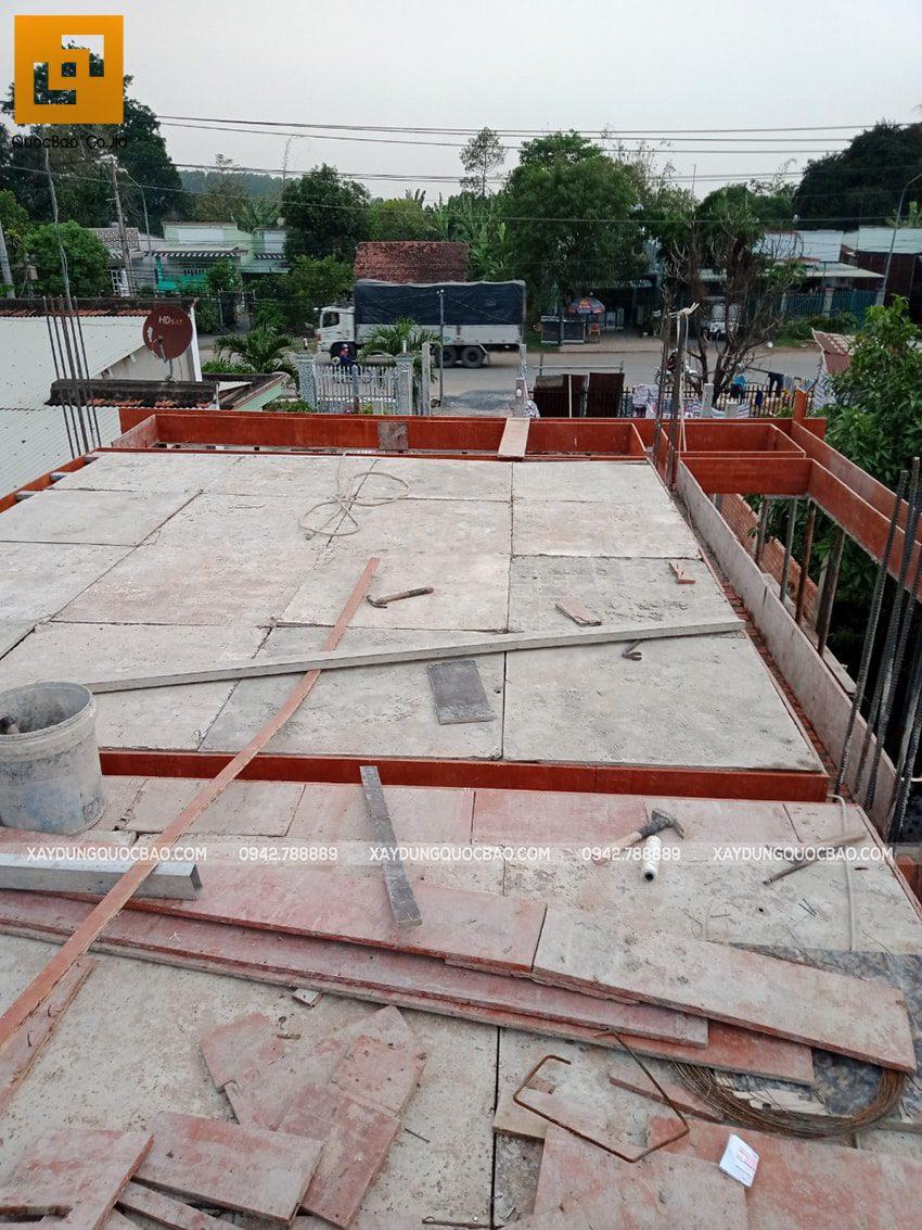 Thi công phần thô nhà 3 tầng tại Vĩnh Cửu - Ảnh 10