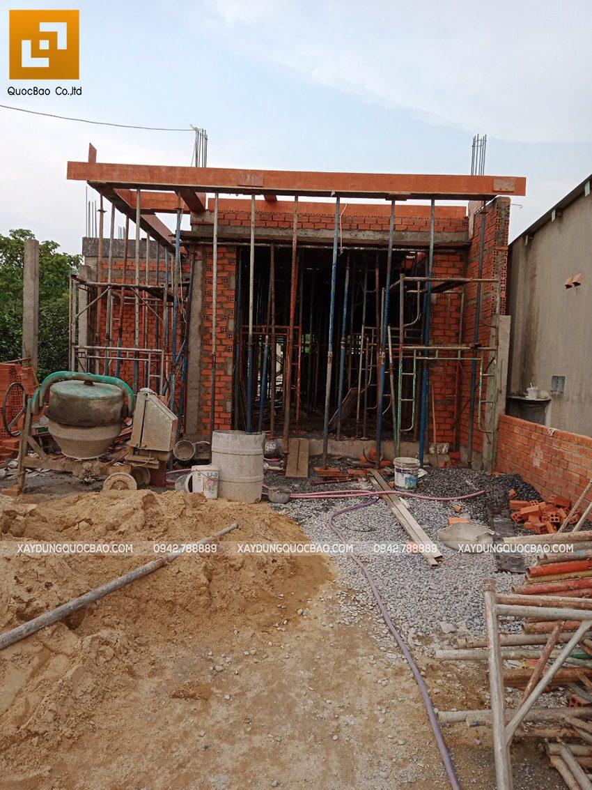 Thi công phần thô nhà 3 tầng tại Vĩnh Cửu - Ảnh 12