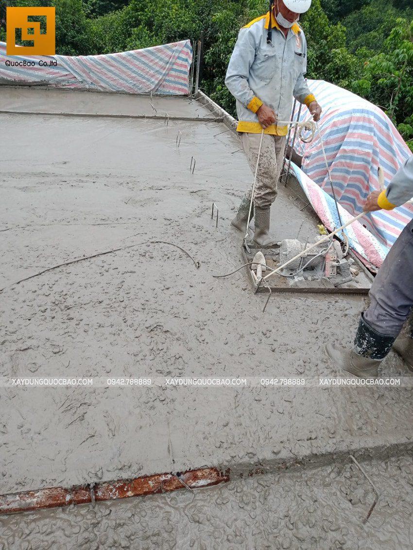 Thi công phần thô nhà 3 tầng tại Vĩnh Cửu - Ảnh 17