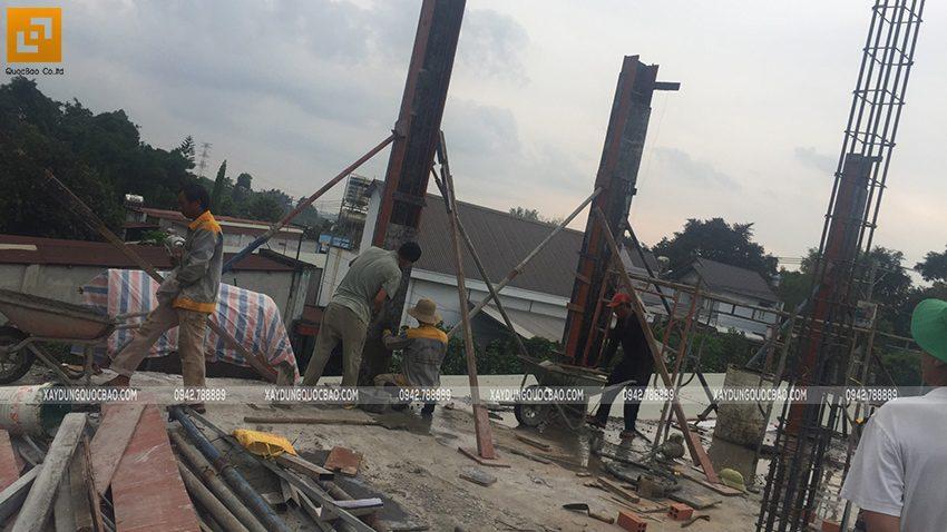 Thi công phần thô nhà 3 tầng tại Vĩnh Cửu - Ảnh 19
