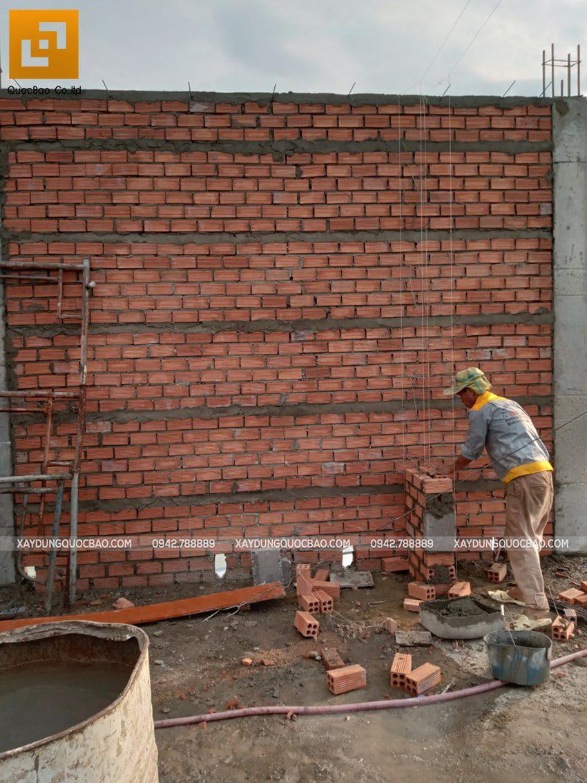 Thi công phần thô nhà 3 tầng tại Vĩnh Cửu - Ảnh 24