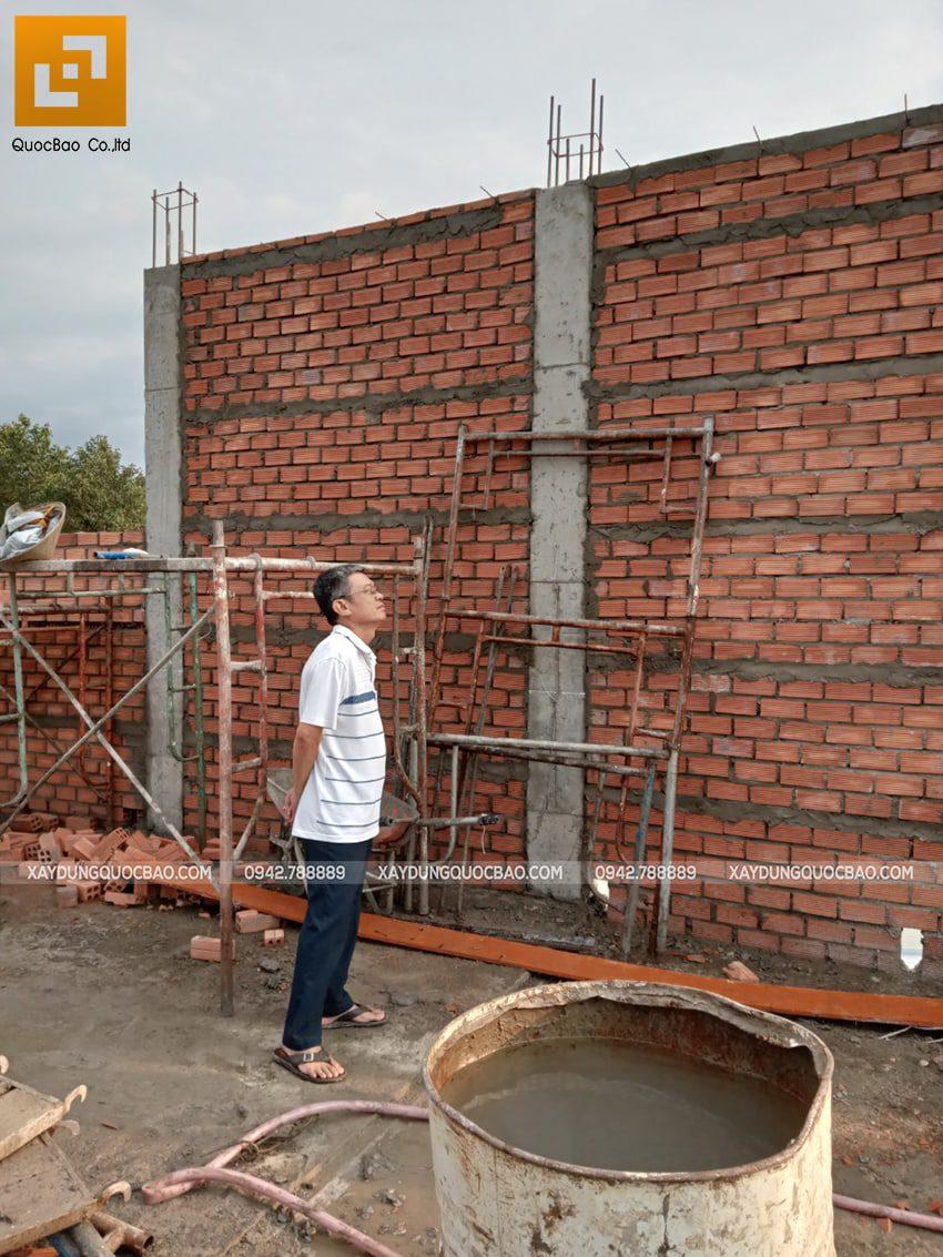 Thi công phần thô nhà 3 tầng tại Vĩnh Cửu - Ảnh 25