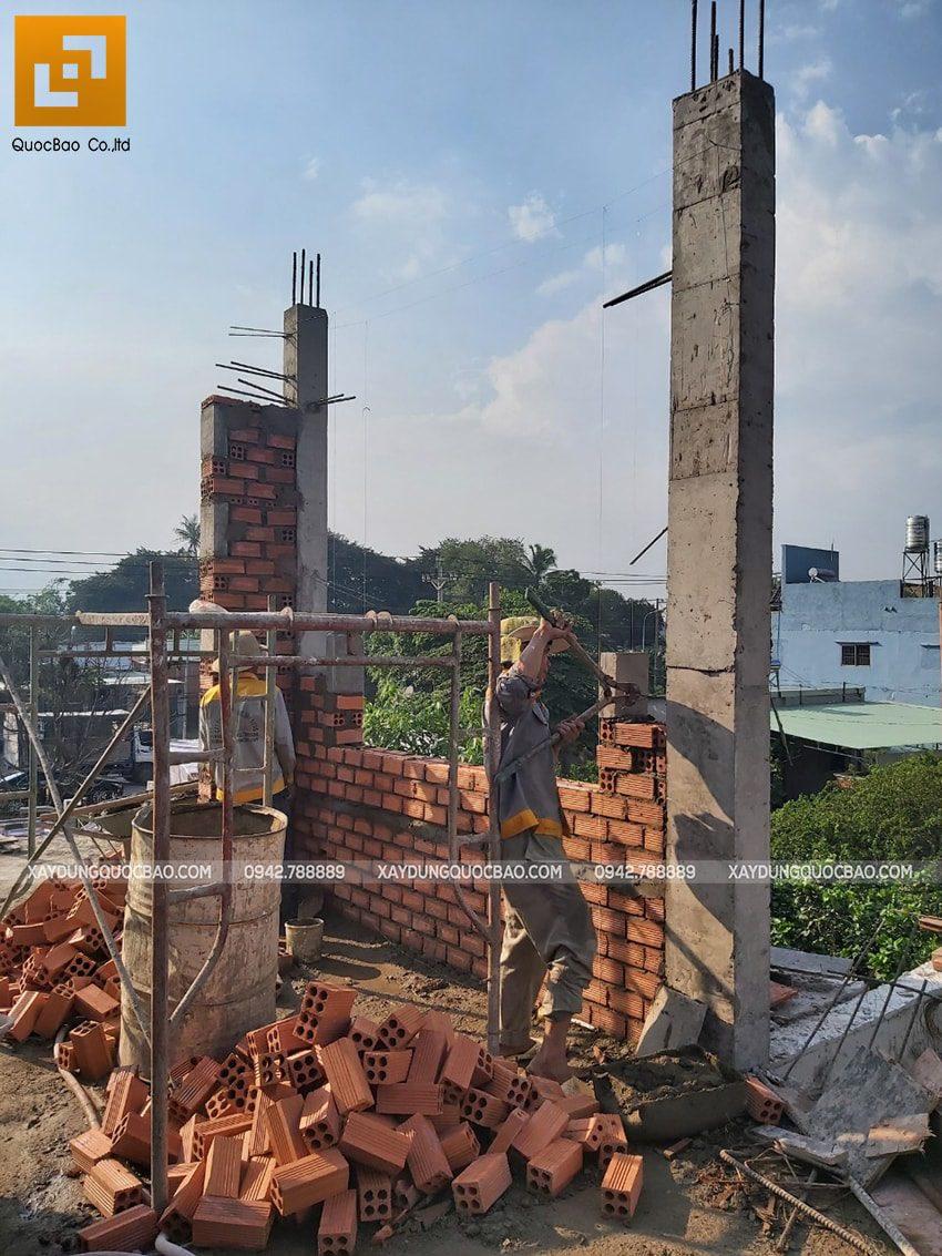 Thi công phần thô nhà 3 tầng tại Vĩnh Cửu - Ảnh 26