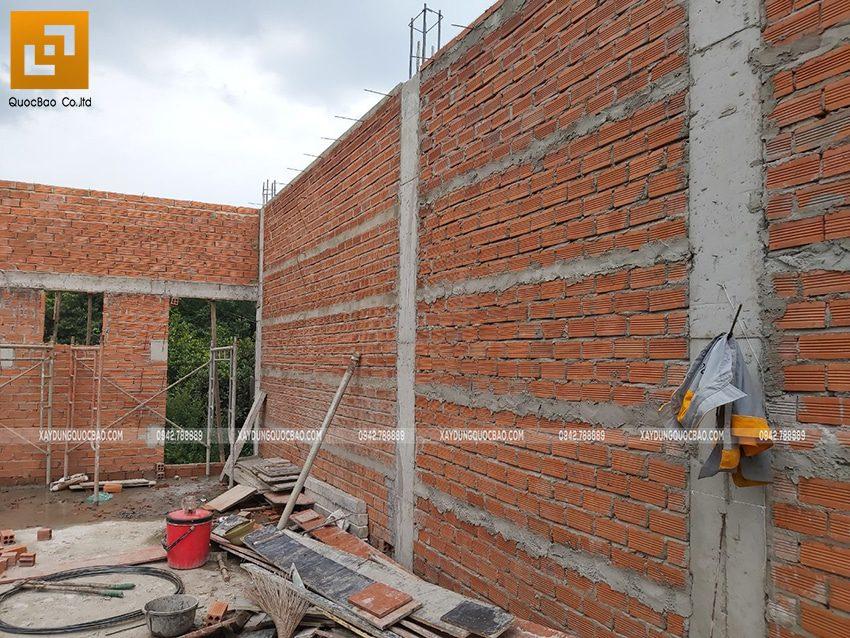 Thi công phần thô nhà 3 tầng tại Vĩnh Cửu - Ảnh 28