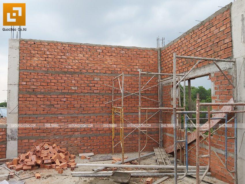 Thi công phần thô nhà 3 tầng tại Vĩnh Cửu - Ảnh 29