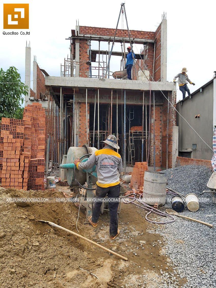 Thi công phần thô nhà 3 tầng tại Vĩnh Cửu - Ảnh 30