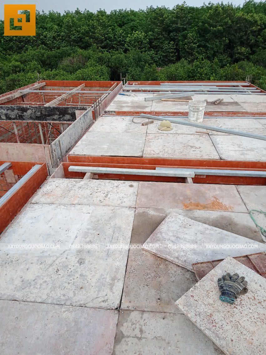 Thi công phần thô nhà 3 tầng tại Vĩnh Cửu - Ảnh 31