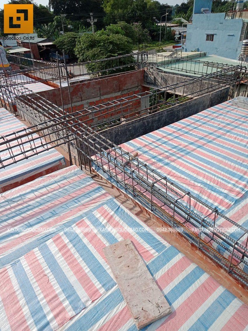 Thi công phần thô nhà 3 tầng tại Vĩnh Cửu - Ảnh 33