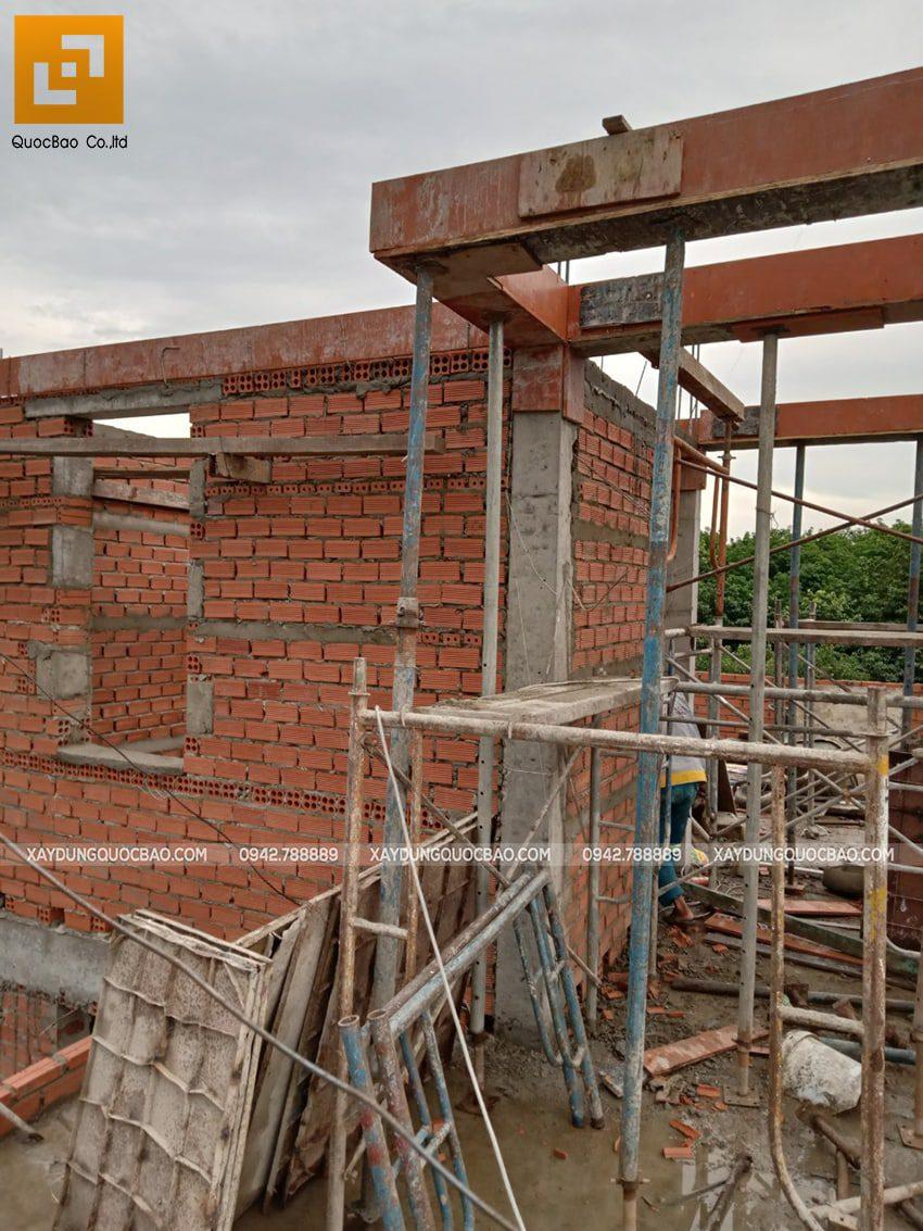 Thi công phần thô nhà 3 tầng tại Vĩnh Cửu - Ảnh 39
