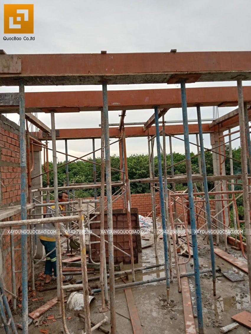 Thi công phần thô nhà 3 tầng tại Vĩnh Cửu - Ảnh 40