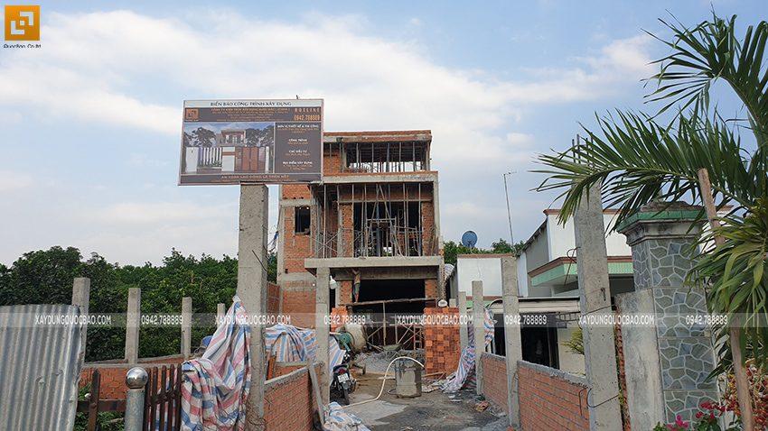 Thi công phần thô nhà 3 tầng tại Vĩnh Cửu - Ảnh 44