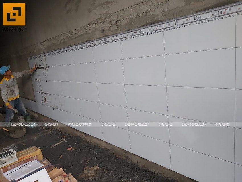 Thi công phần hoàn thiện nhà phố tại Vĩnh Cửu - Ảnh 1