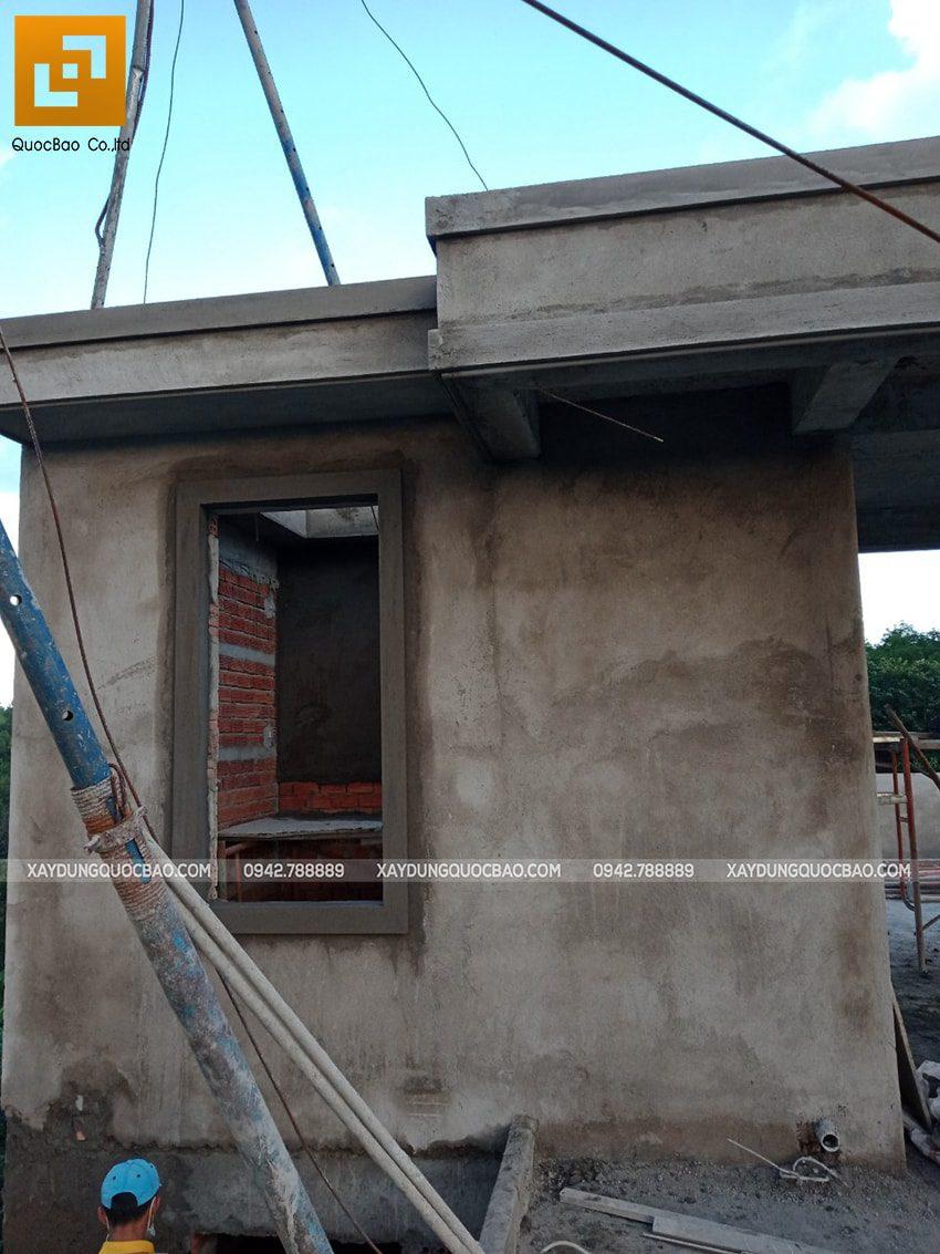 Thi công phần thô nhà 3 tầng tại Vĩnh Cửu - Ảnh 47