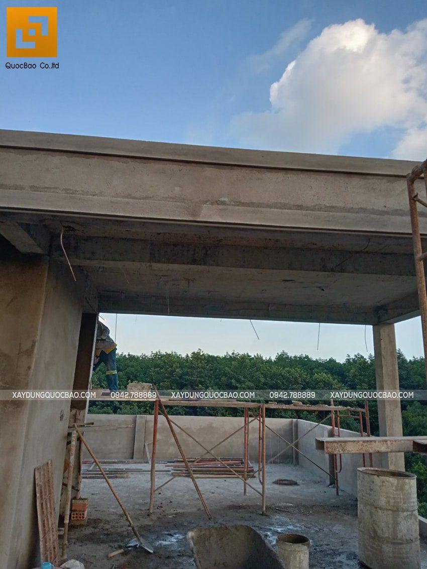 Thi công phần thô nhà 3 tầng tại Vĩnh Cửu - Ảnh 48