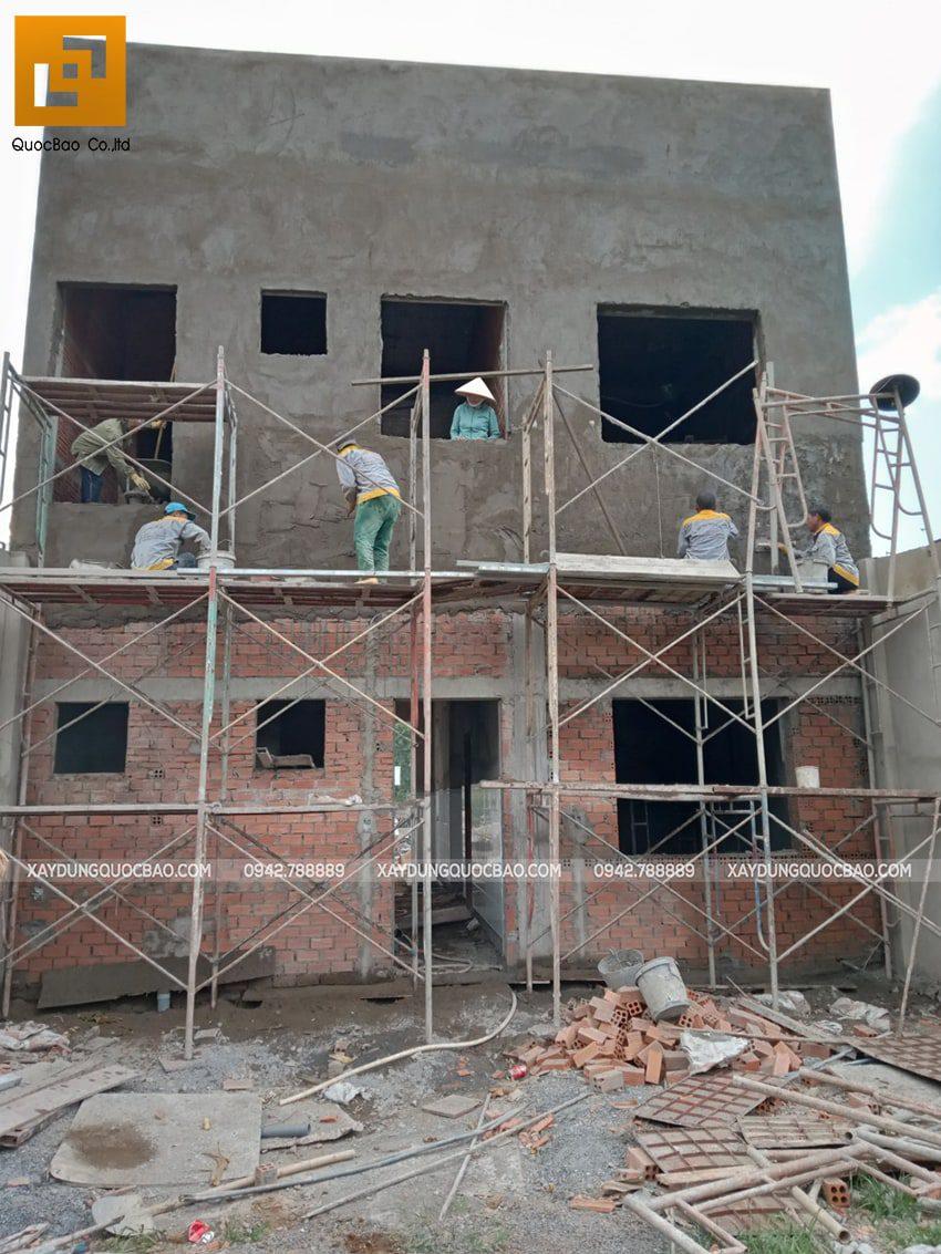 Thi công phần thô nhà 3 tầng tại Vĩnh Cửu - Ảnh 50
