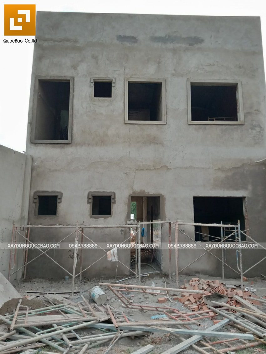Thi công phần thô nhà 3 tầng tại Vĩnh Cửu - Ảnh 51