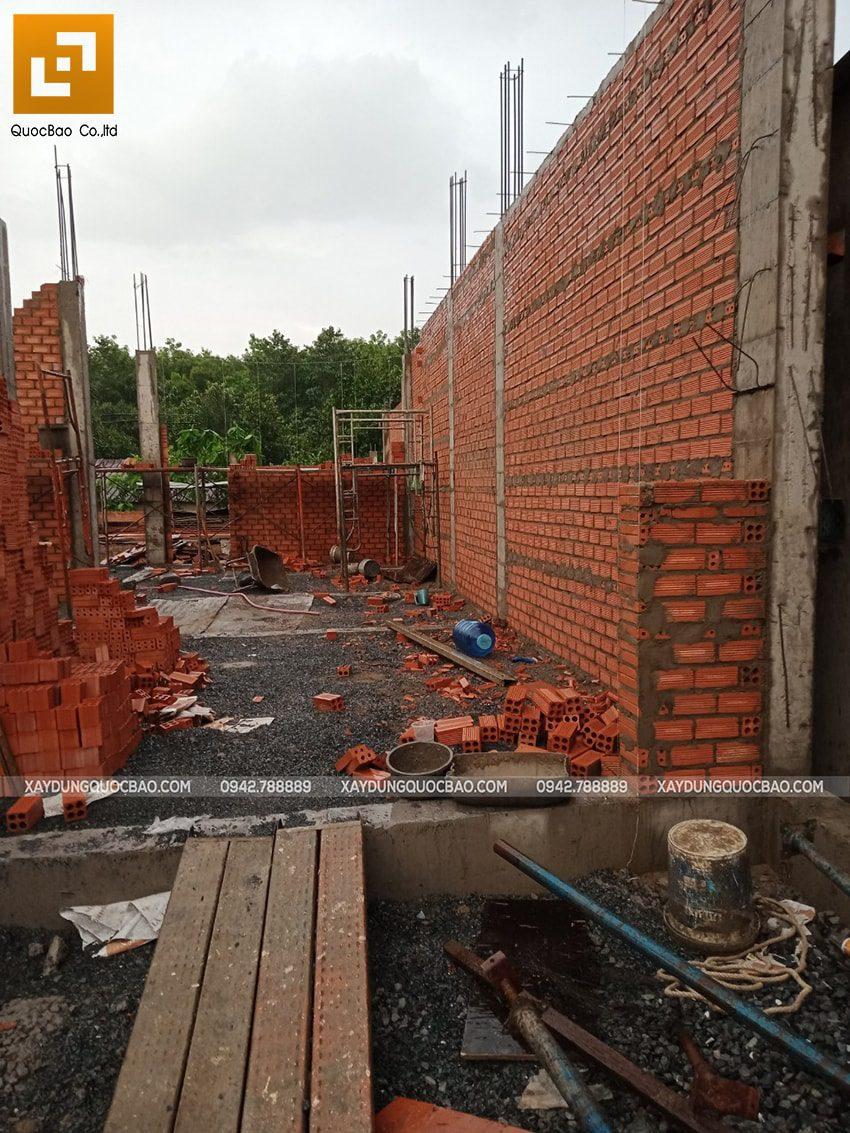 Thi công phần thô nhà 3 tầng tại Vĩnh Cửu - Ảnh 7