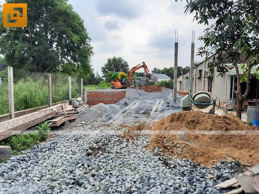 Thi công phần thô nhà mái lệch 1 tầng tại Vĩnh Cửu - Ảnh 10