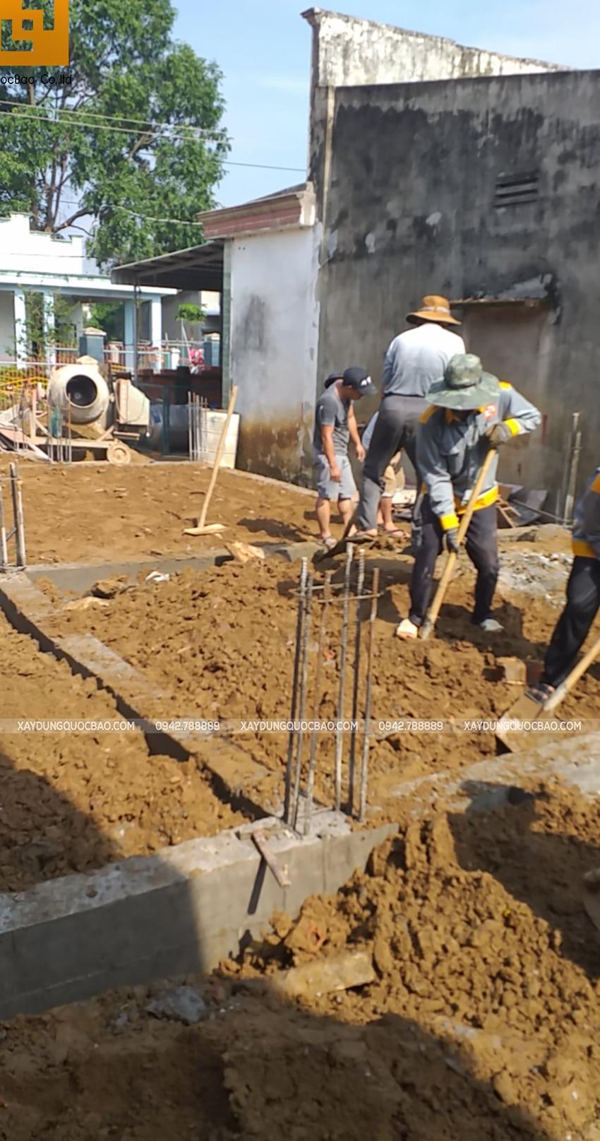 Thi công phần thô nhà mái Nhật tại Bình Dương - Ảnh 10
