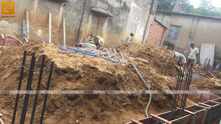 Thi công phần thô nhà mái Nhật tại Bình Dương - Ảnh 7