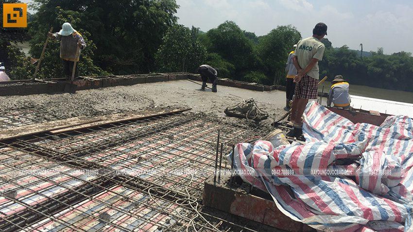 Thi công phần thô nhà mái Nhật tại Bình Dương - Ảnh 24