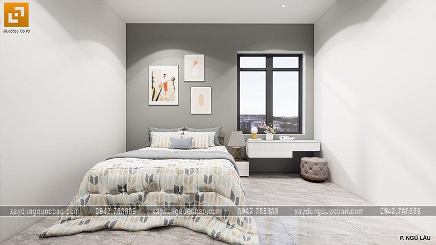 Thiết kế nội thất phòng ngủ của ông bà