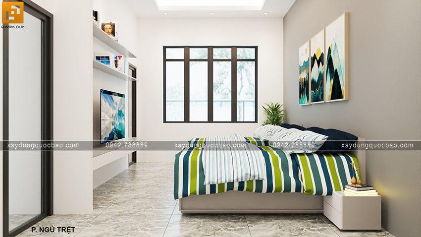 Phòng ngủ tại tầng trệt