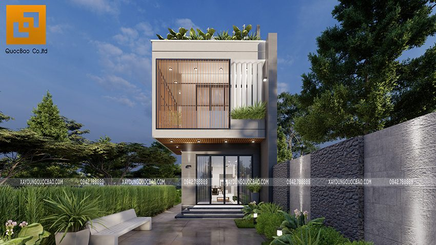 Biệt thự 3 tầng thiết kế hiện đại, độc đáo tại Bình Dương - Ảnh 6