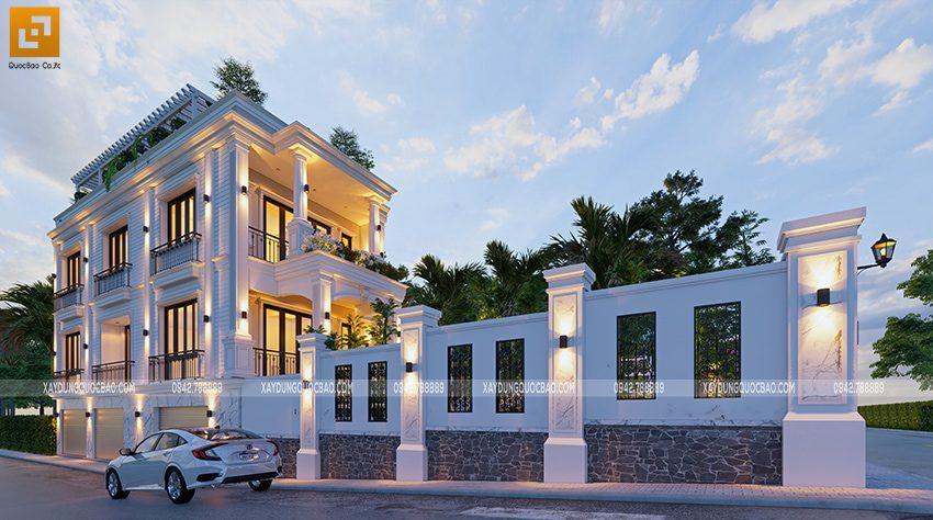 Biệt thự 4 tầng tại Biên Hòa của gia đình anh Hoan